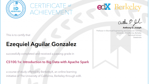 CS100.1x Introduction to Big Data with Apache Spark