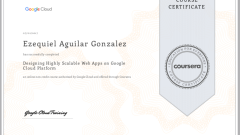 Google – Designing Highly Scalable Web Apps on Google Cloud Platform