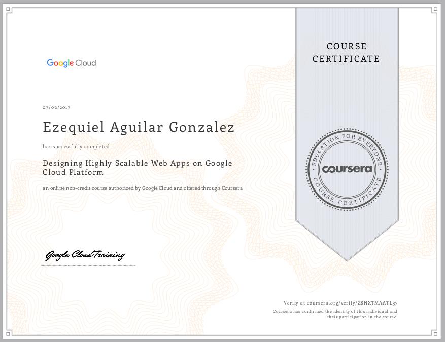Google Designing Highly Scalable Web Apps On Google Cloud Platform