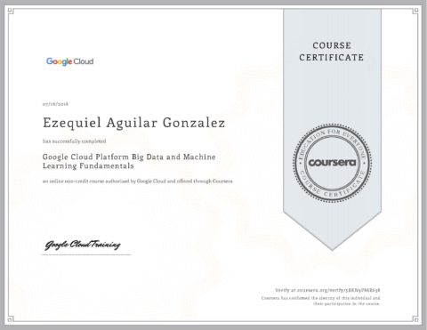 Google Cloud – GCP Big Data And Machine Learning Fundamentals